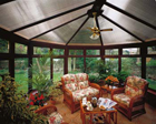 Wood effect UPVC conservatory