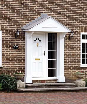 Domestic external high security front doors in upvc tough for Domestic front doors
