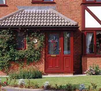Domestic External High Security Front Doors In Upvc Tough